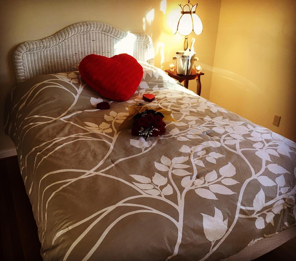 Blackberry House Wicker bedroom - Queen