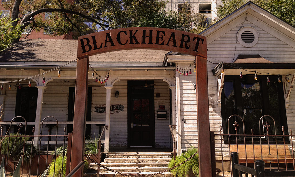 BLACKHEART       |    bar 86 Rainey St, 78701   role  development advisory services, landlord representation