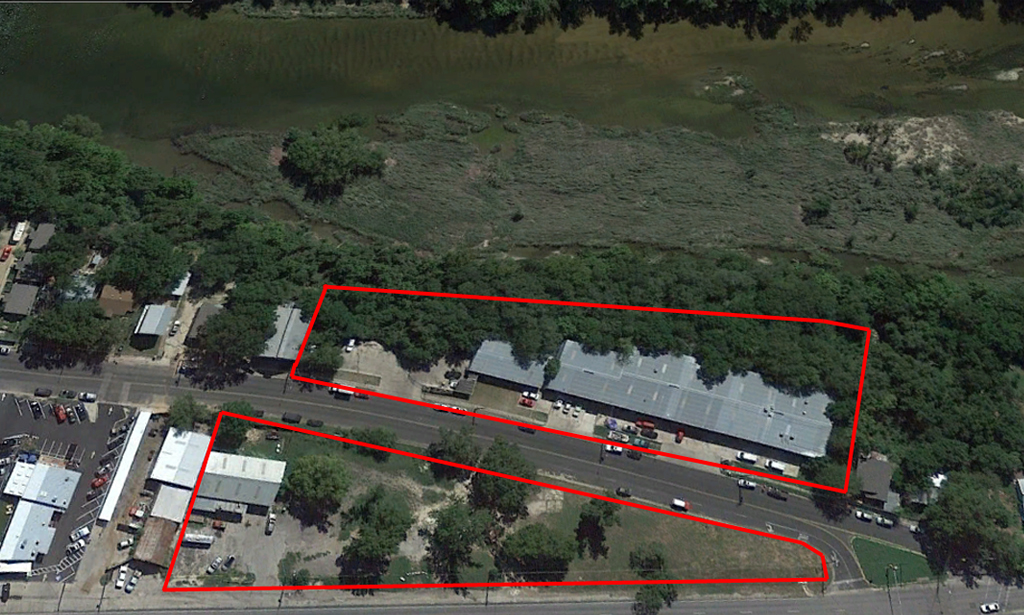 RIVERFRONT WAREHOUSE   |   hotel/mixed-use 4701 RED BLUFF Rd, 78702   role   development advisory services, buyer representation