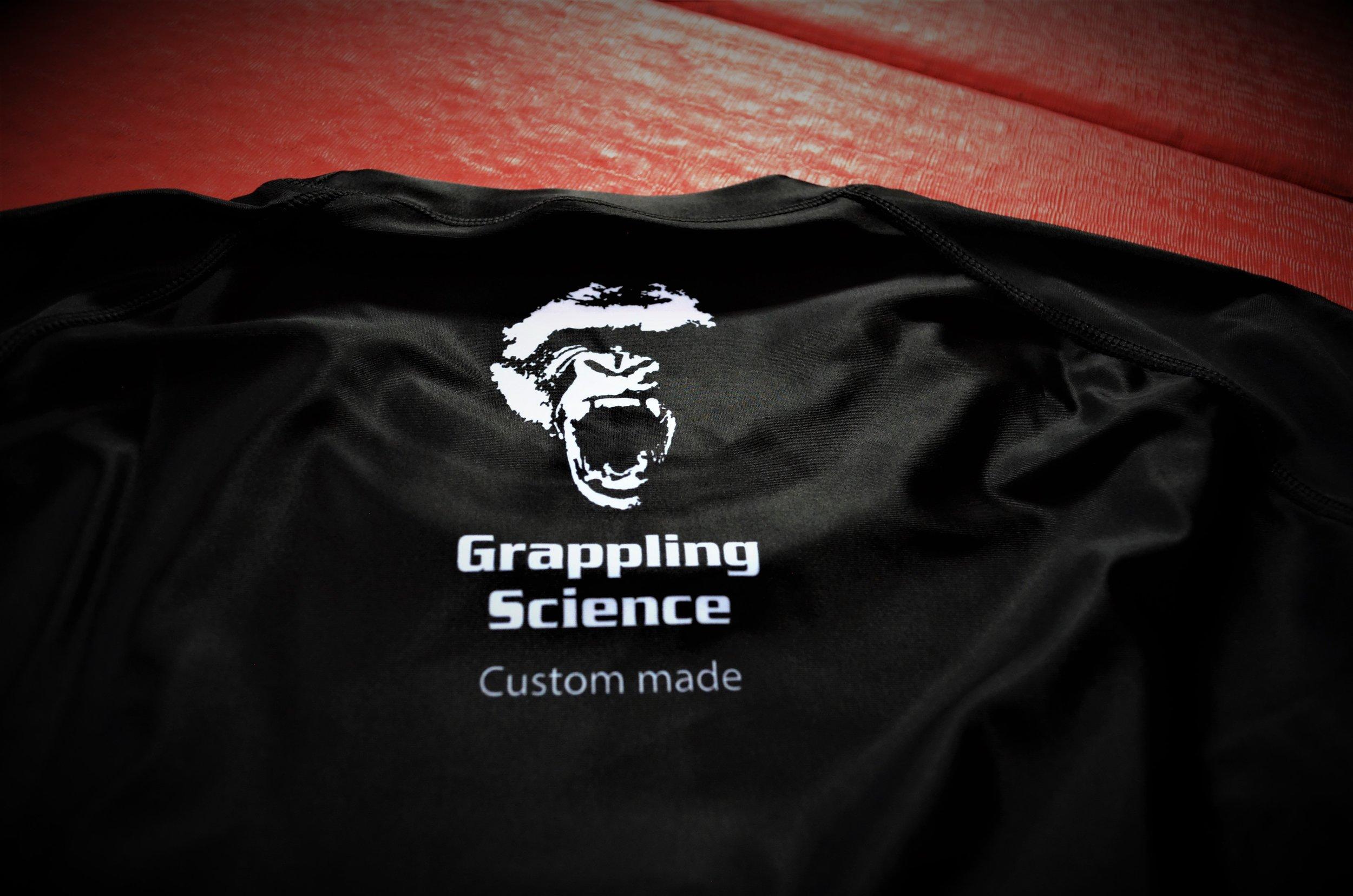 grappling science rash gaurd