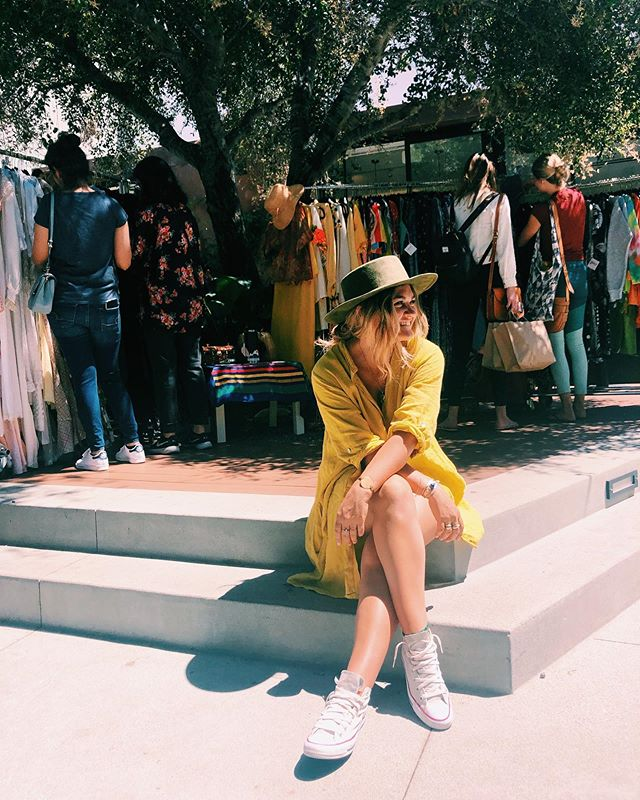hey, today was fun. thanks for coming by 🌼💫✨ 📸 @madlyvintage // @reformation @platform_la