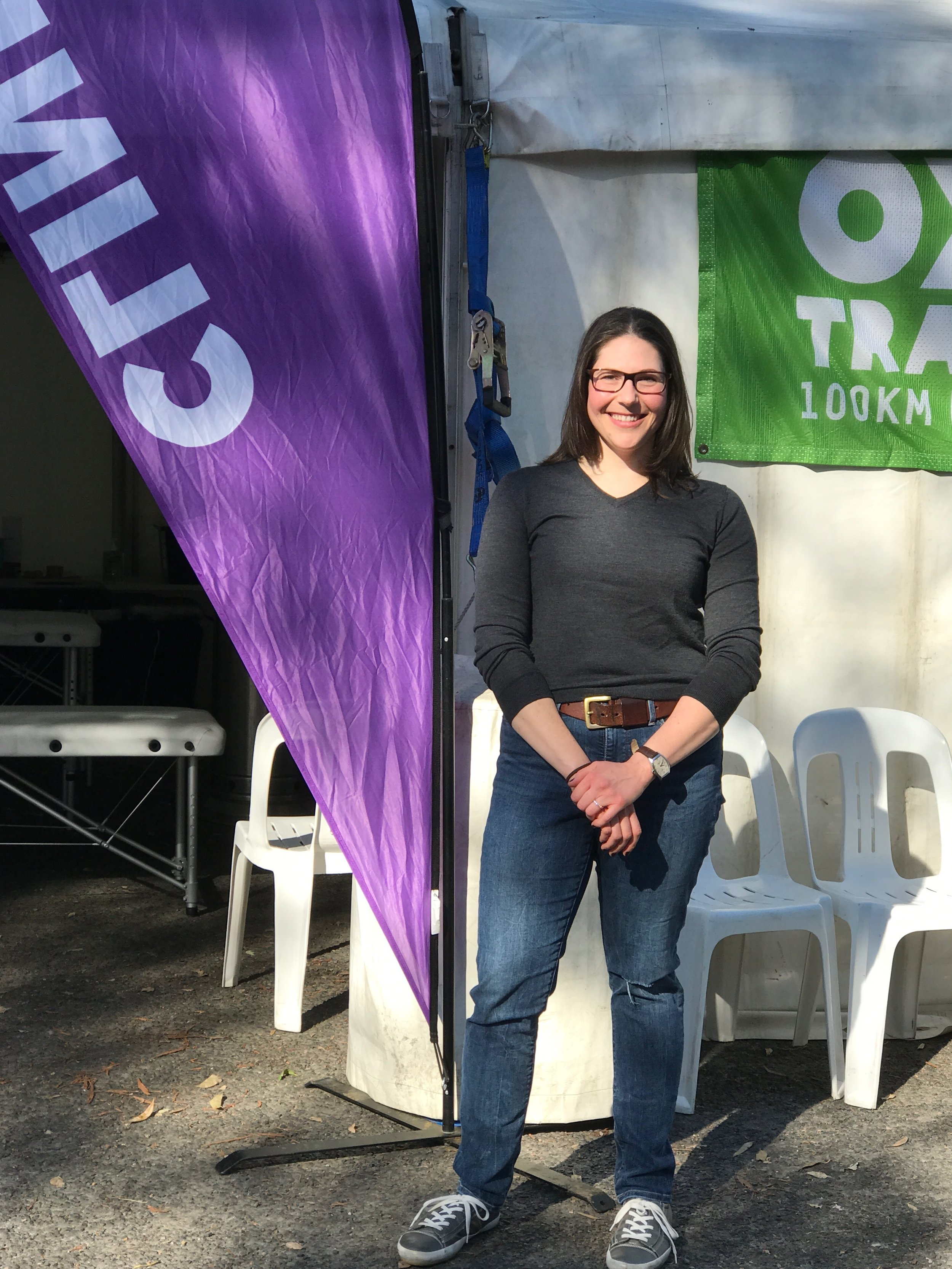 Marissa is volunteering at the 2017 Oxfam Trailwalker. We want to wish all the walkers the best of luck and to stay injury free!