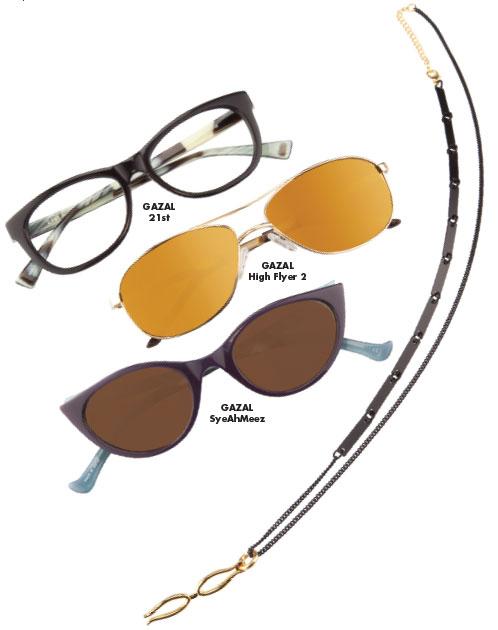 20/20 MagazineHolly Zabrycki reviews the first release of Gazal Eyewear. -