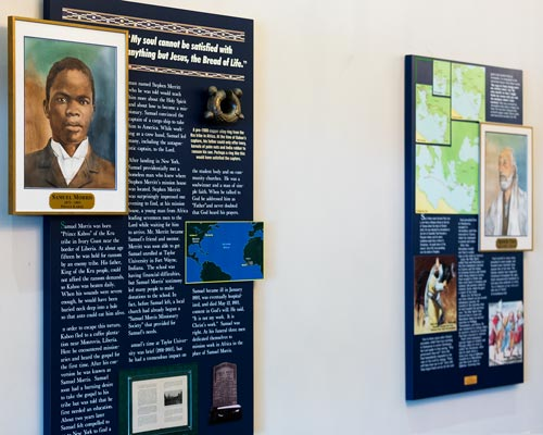 Missionary Hall of Fame in Morningside lobby