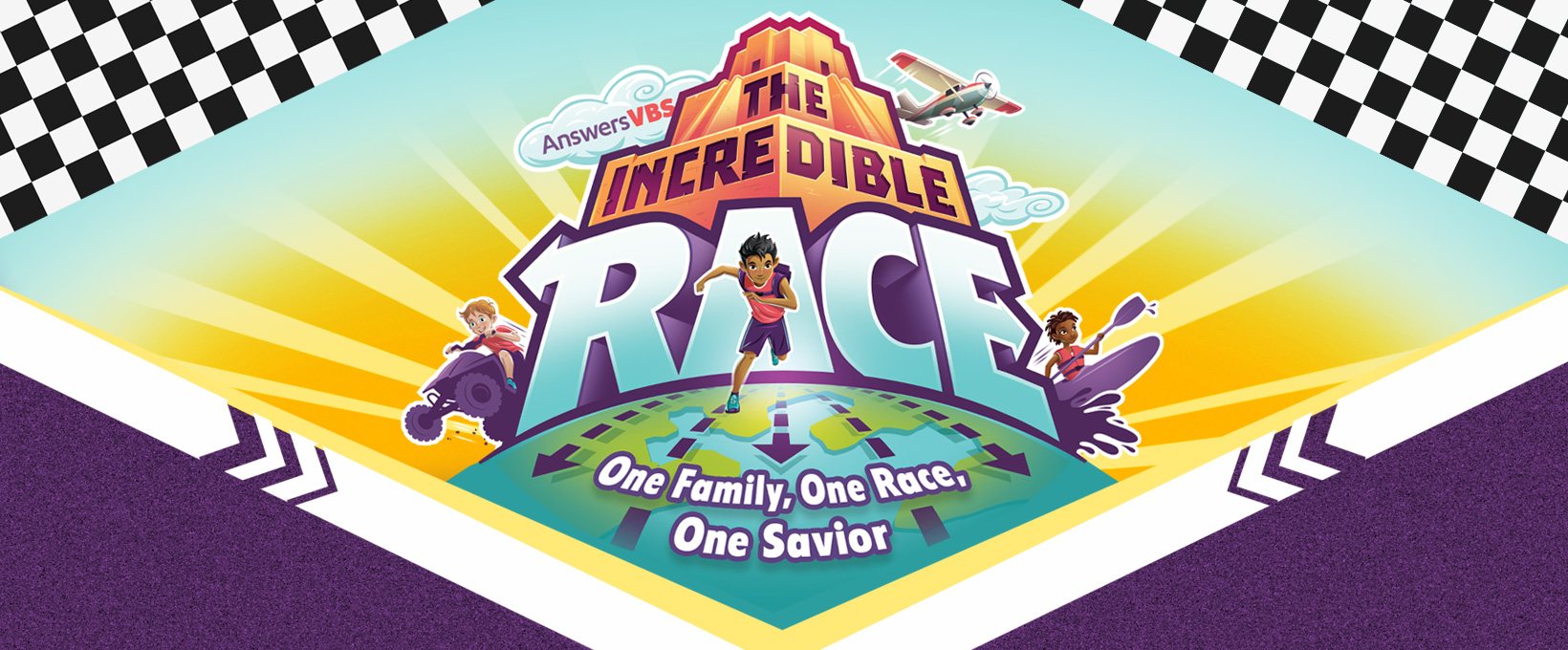 VBS Registration is LIVE! Register your child/children at    Morningside.org/vbs     It's a Vacation Bible School like no other!   Kids will race from continent to continent uncovering clues and attempting challenges as they fill their score cards.  They'll also discover that, no matter where we live, what shade of skin we have, or what language we speak, we are all part of the same race— the human race —and all part of the same family from Adam and Eve.  As they examine the events surrounding the tower of Babel, kids will learn that God is calling people from every tribe and nation through his Son, Jesus Christ, the Savior of the world. And that he wants us to share this good news in kindness and love with our neighbors nearby and far away.  Join  The Incredible Race   Sunday through Thursday, June 9-13 from 6:00-8:15pm  and experience God's love for every tribe, language, and nation!