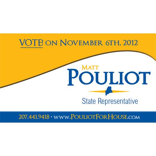 Matt Pouliot Campaign Business Card/Magnet