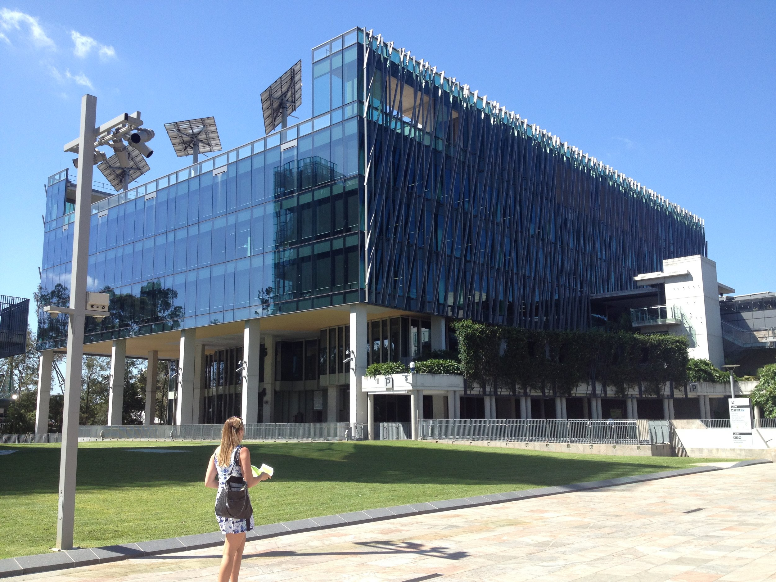 The one-day symposium was held at the Cube at QUT Gardent Point in the city.