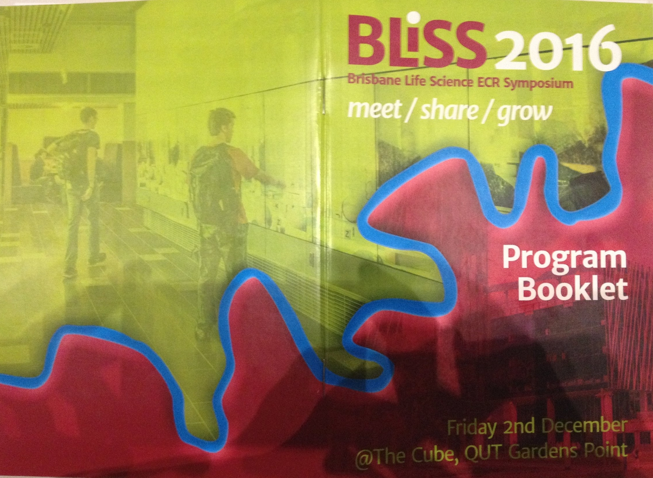 A good case of graphic design for the BLiSS program.