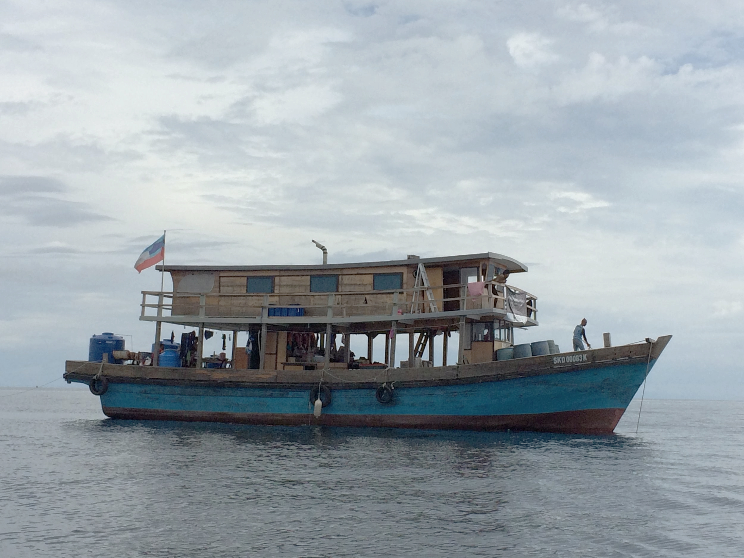 Our sturdy vessel for the three weeks of field work.