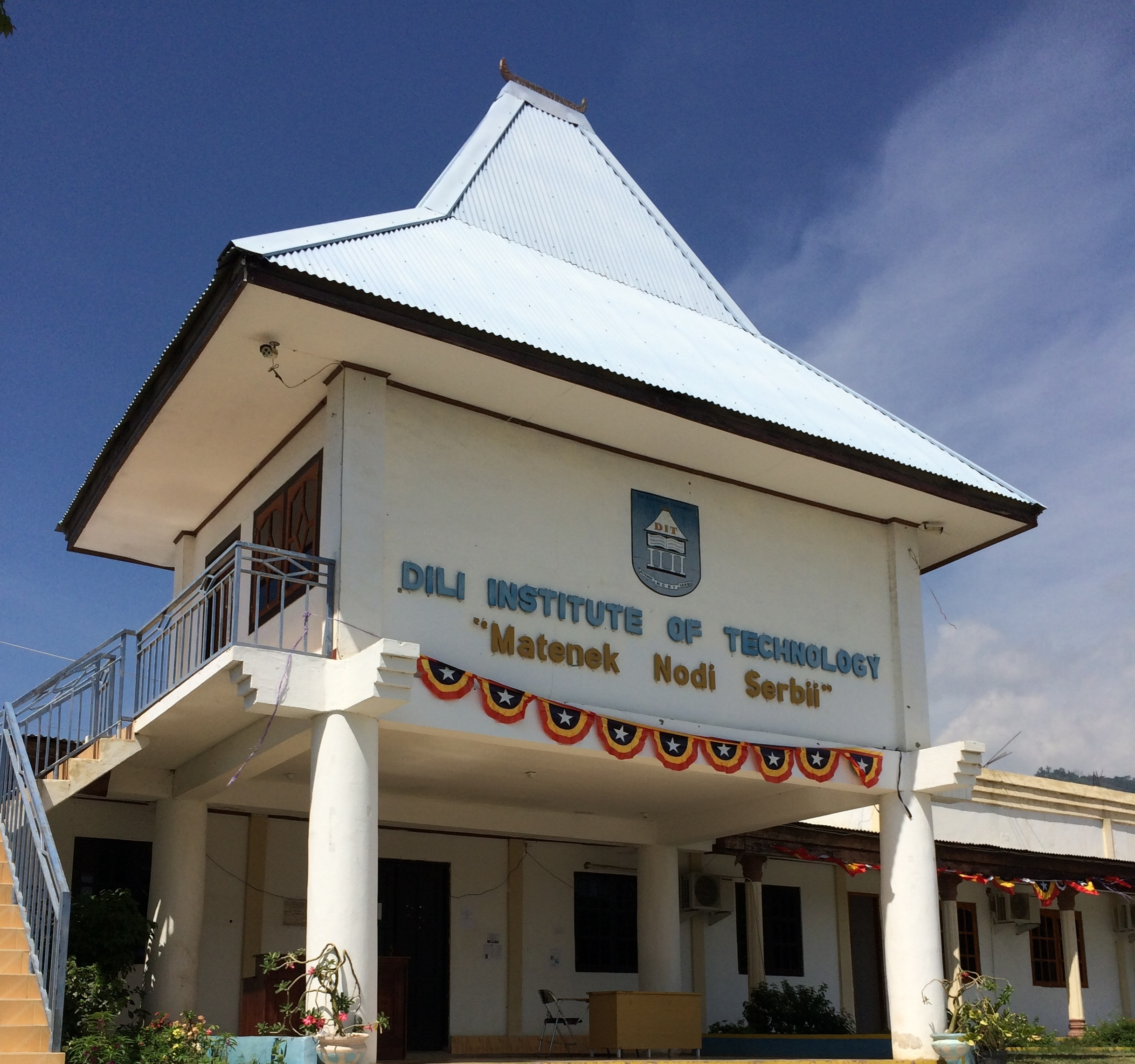 Dili Institute of Technology - my school for 1 week of Tetun.