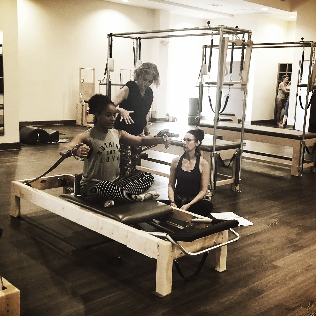 Sharing passion of Pilates while learning and connecting to the work is the joy of it all!