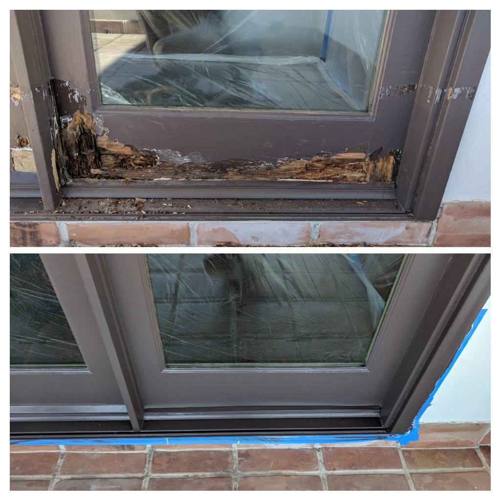 Wood Door Patch