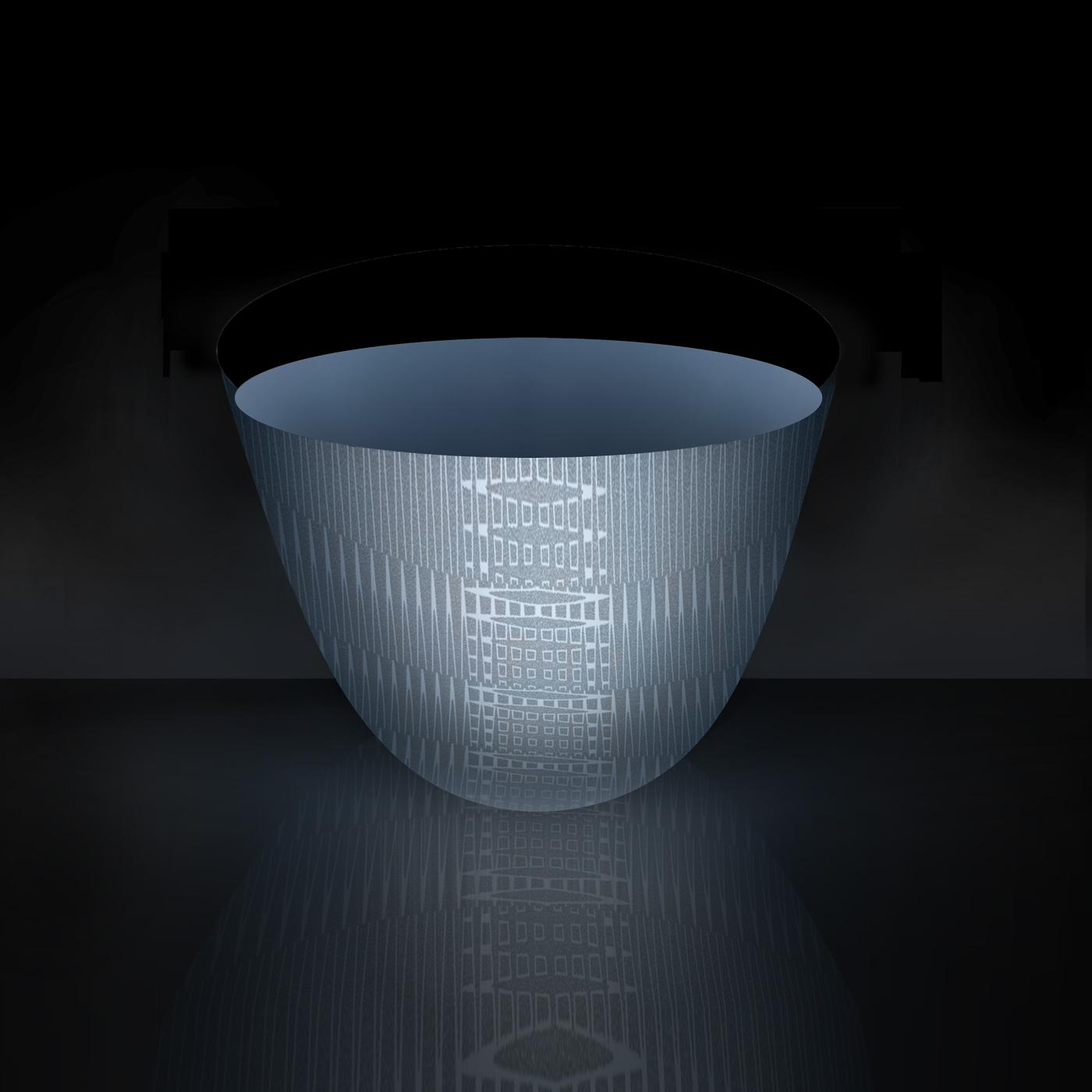 Blue Bowl   (12 x 12)