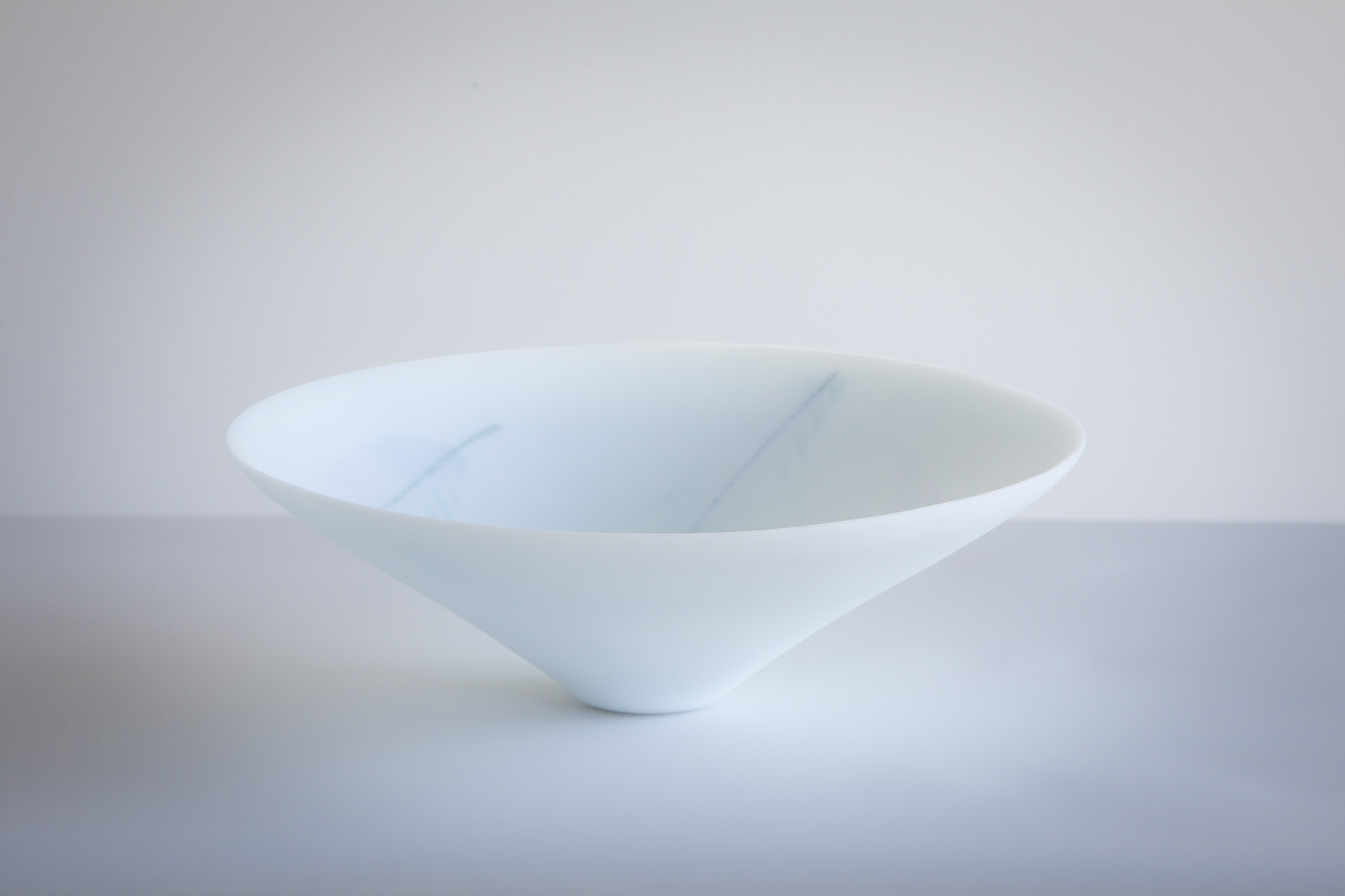 Blue-Feather Bowl