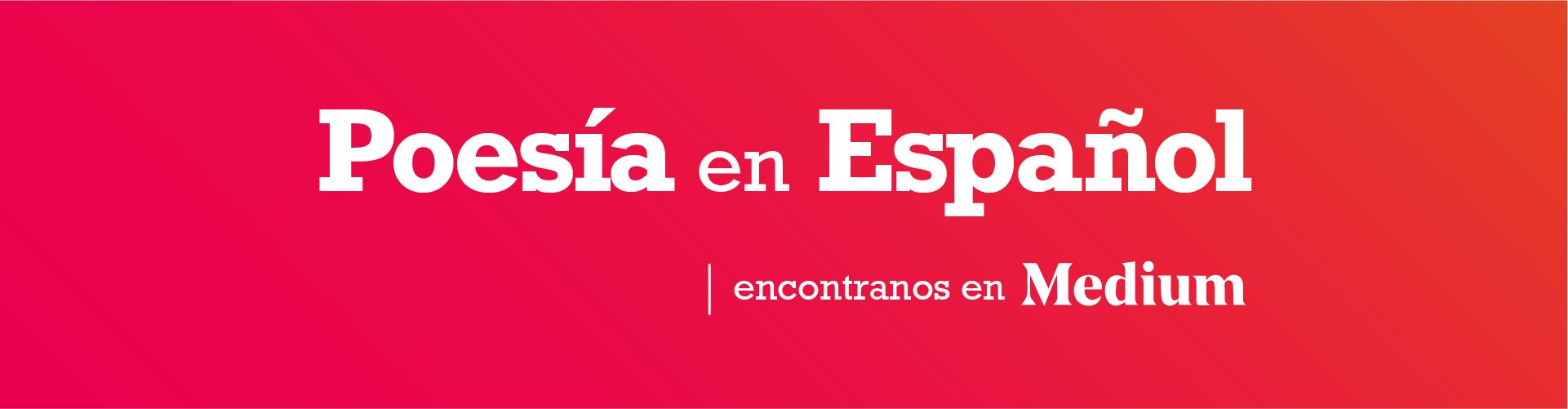 Poesía en español - Cover