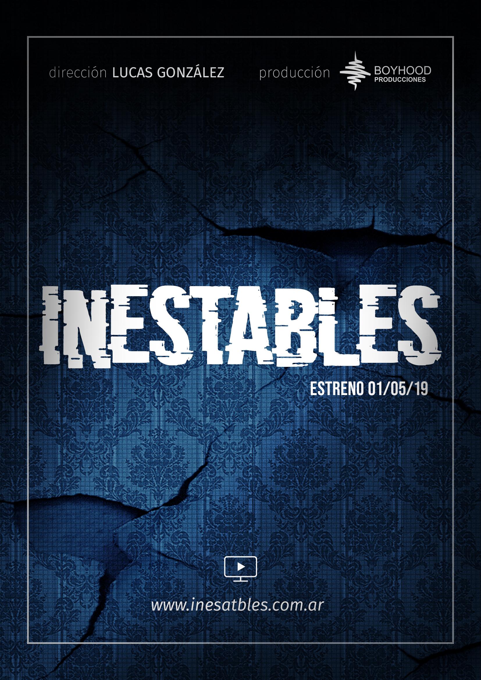 Inestables, Afiche
