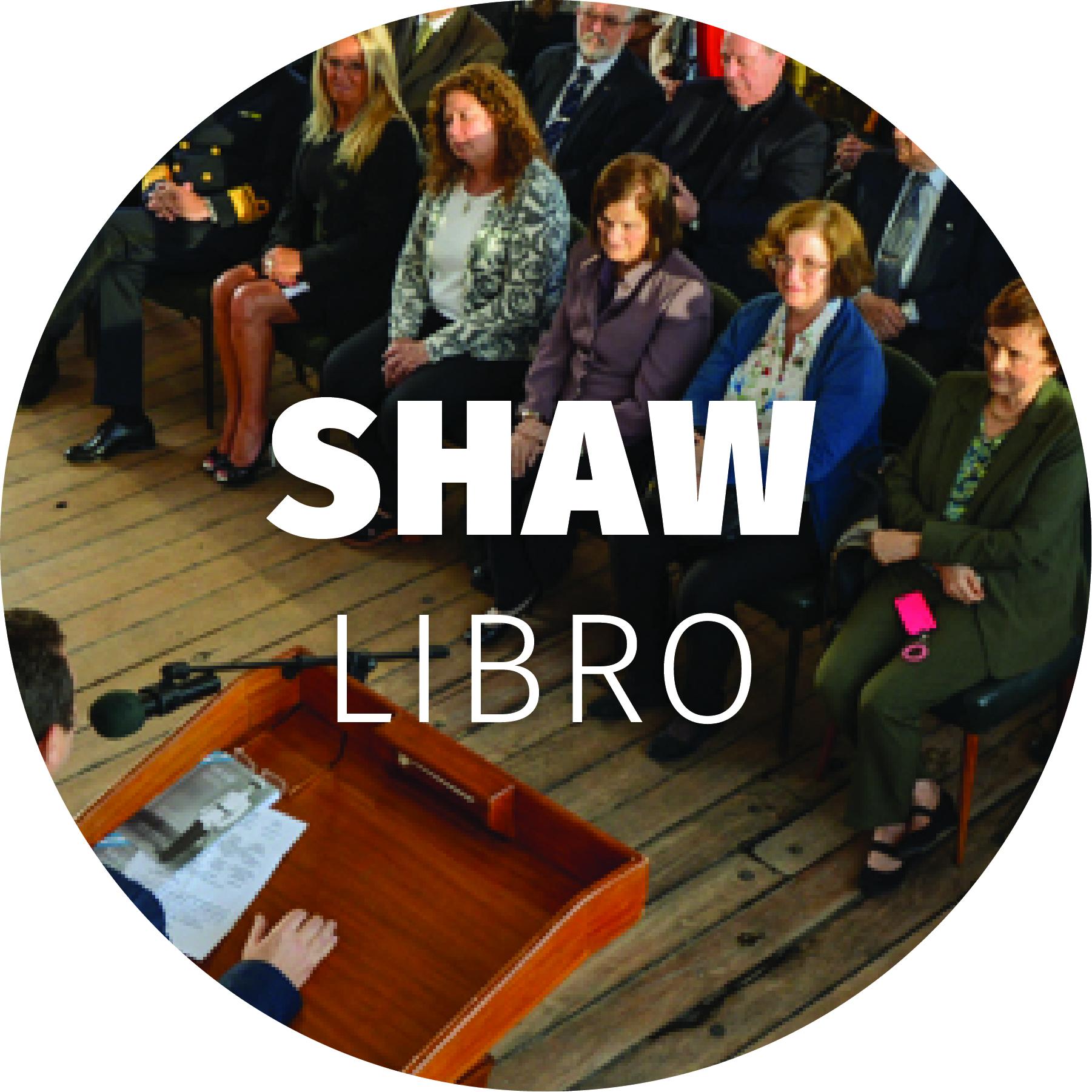 """Shaw – Libro - Diseño interior y de tapa del libro """"Shaw"""", así como diseño de banner para presentación del libro."""