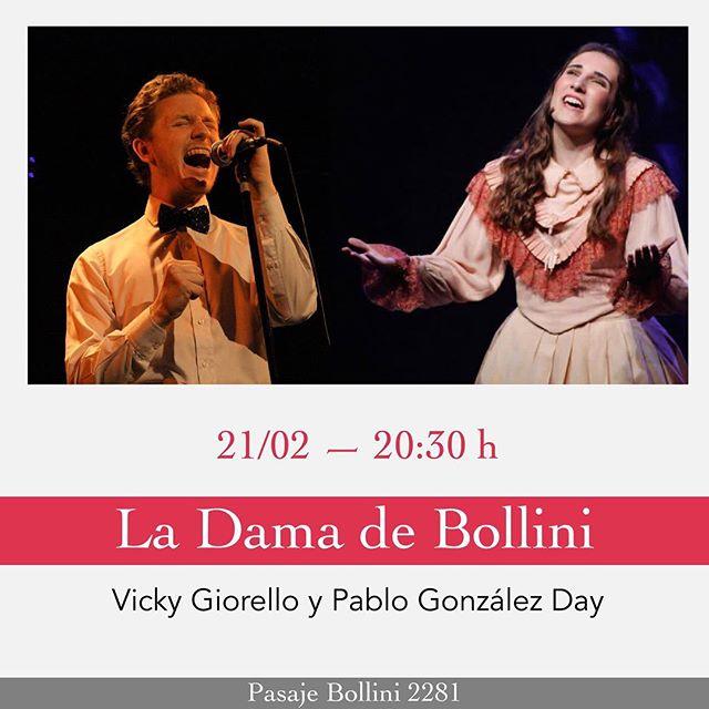 Te esperamos hoy a la noche con @vgiorello para pasar una linda noche de 🎼 y 🍻 en @ladamadebollini.