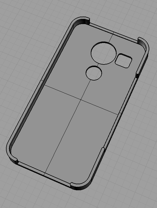 Case with holes