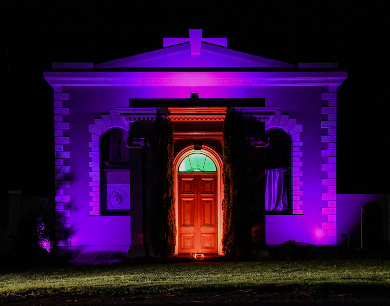 LIGHT UP PORT FAIRY - Wishart Street as you've never seen it.Just one more weekend to experience the lights!