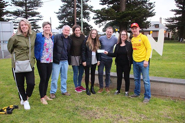 This is what community spirit is all about ✨ we were so greatful to receive a $500 donation from the Port fairy surf life saving club to go towards the Winter Weekends Festival! So amazing! Thank you!!! 👍🏽❤️ #winterweekends #pfww #closingparty