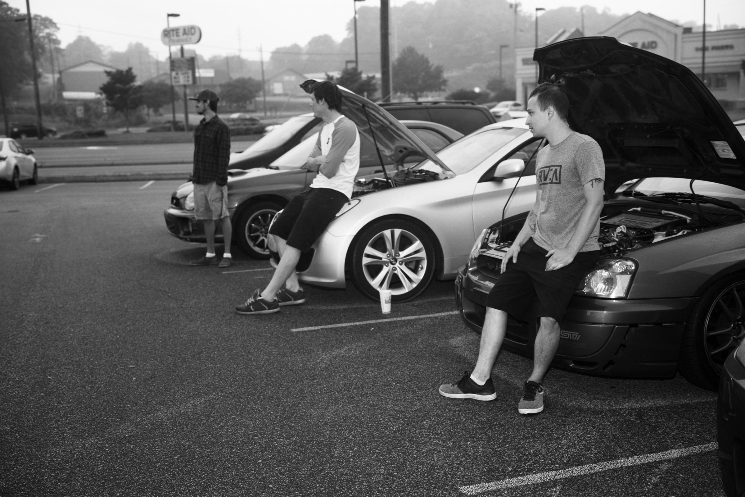 Hoods Up, 2016 / Morganton, NC