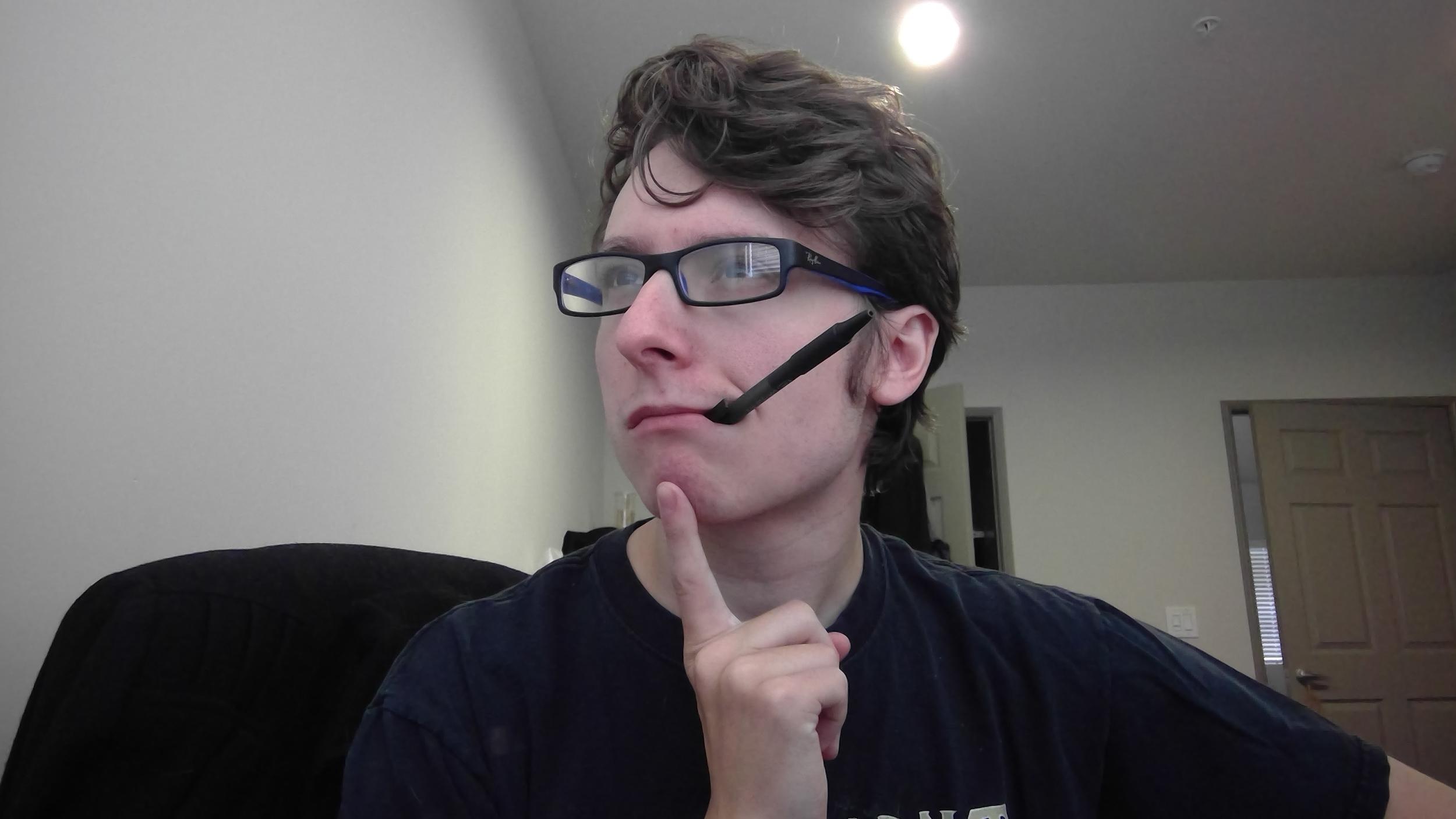 Do I look pretentious enough to make shitty similes?
