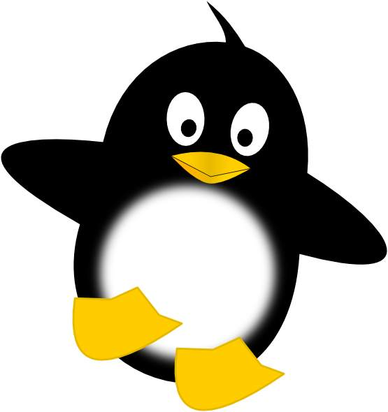 Why a penguin? I don't know! I'm being SO CREATIVE RIGHT NOW.