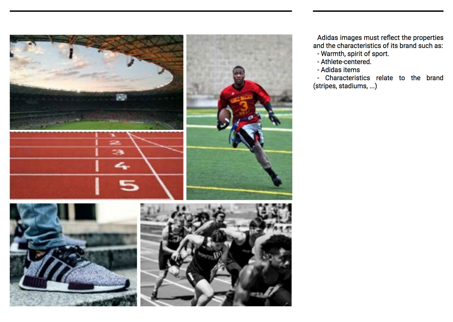 Adidas' Brand Guidelines for Photography