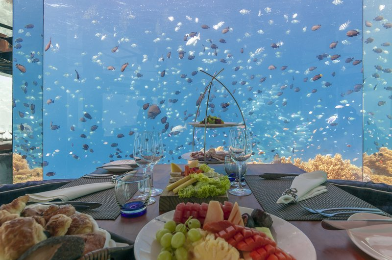 Enjoy breakfast, lunch or dinner with the ultimate view.