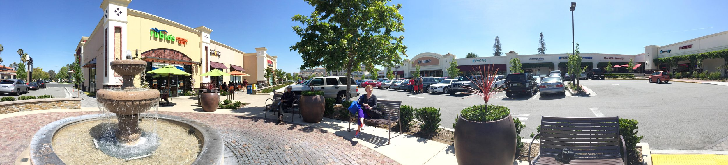 Cupertino Crossroads Shopping Center