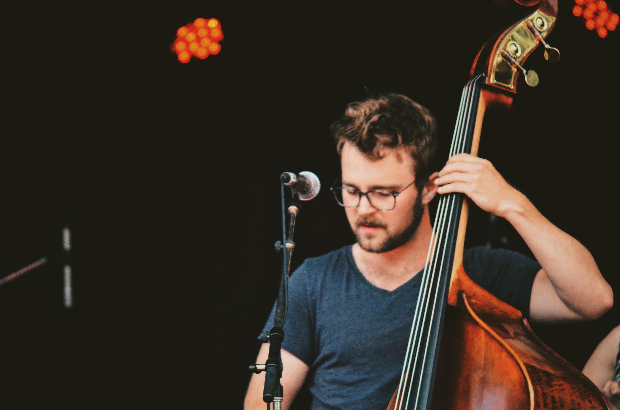 Nick Mintenko, Bass and Vocals -