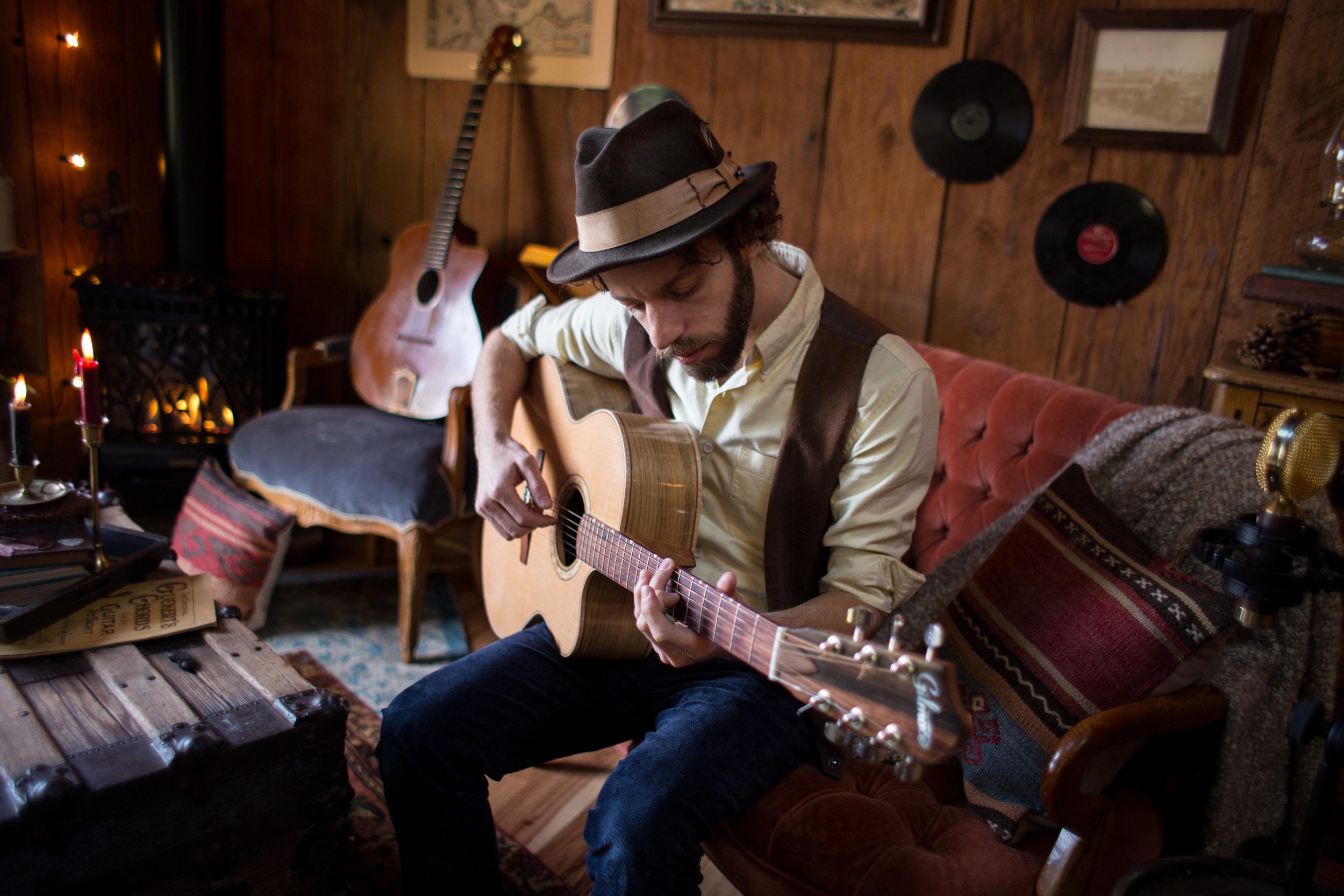 Adam Dobres, Guitar -