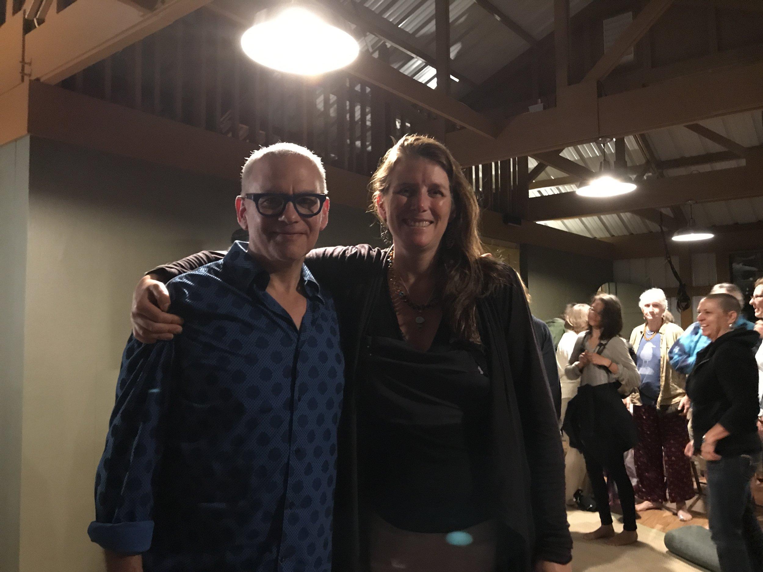 """Laurence Hobgood and Cari, Leo Nani, Hawaii """"it's All Music"""", Jan 2018"""
