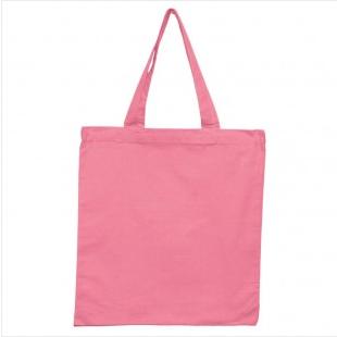 Pink - 6oz Basic Tote 15x16