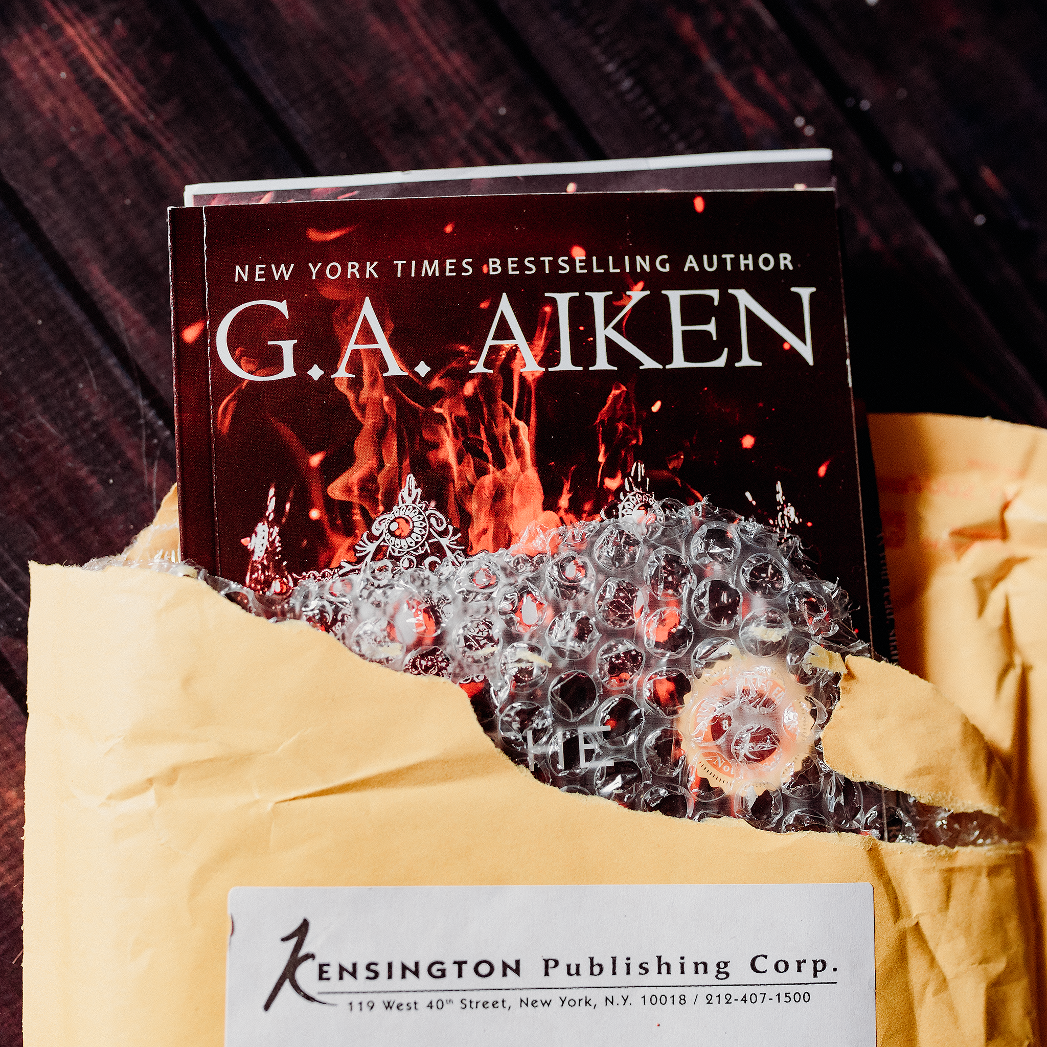The Blacksmith Queen - by G.A. Aiken