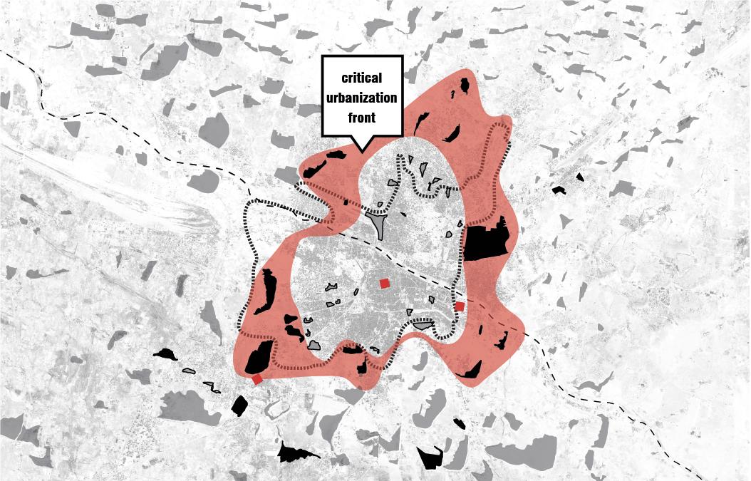 Critical Urbanization Front: Edge Condition