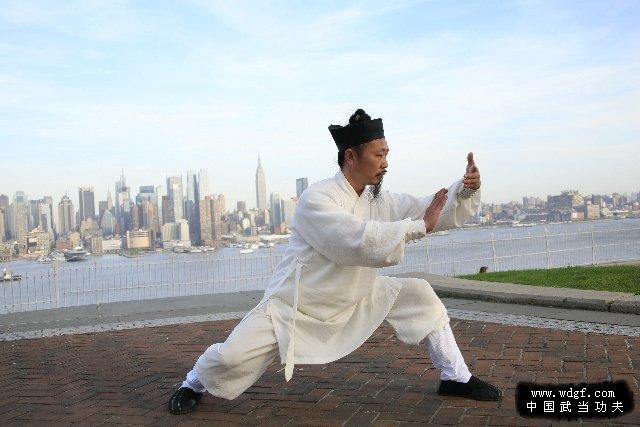 Master Zhong teaching Taiji in US