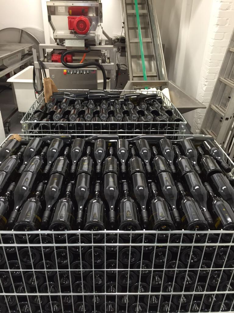 1900 bottles almost ready to go...