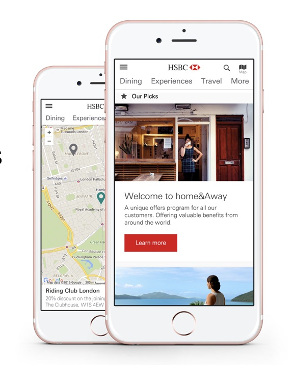 The  new home&Away  responsive mobile website