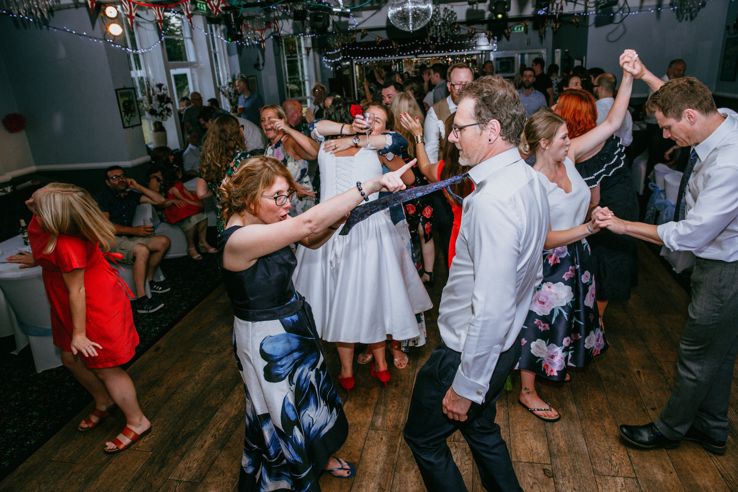 - 'He was there to capture all the really special bits of our day (as well as some of the excellent dance moves being shown once the party got started!) and - most importantly - the photos are absolutely gorgeous.'