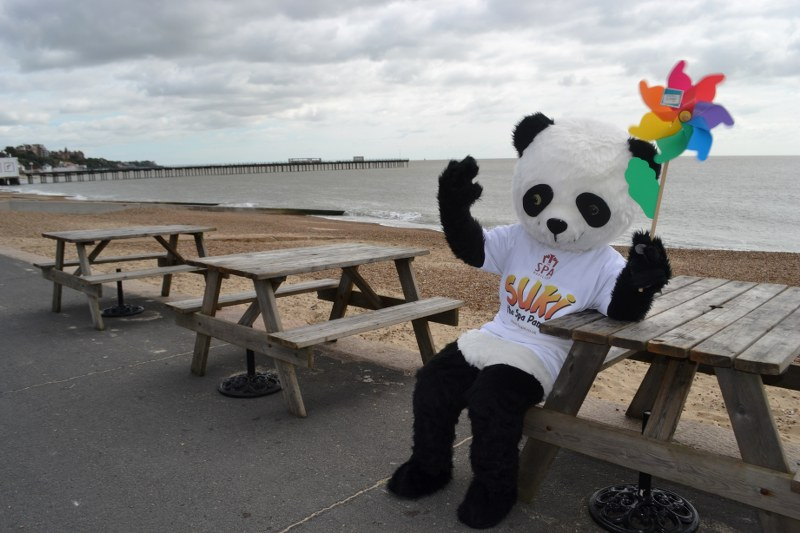 Suki the Spa Mascot who will be making her Felixstowe Carnival debut in July