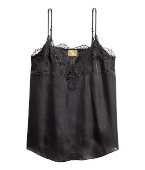 H&M Satin Strappy Top- £19.99