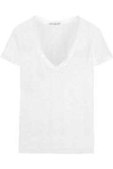 James Perse Casual Slub Cotton T-Shirt- £75