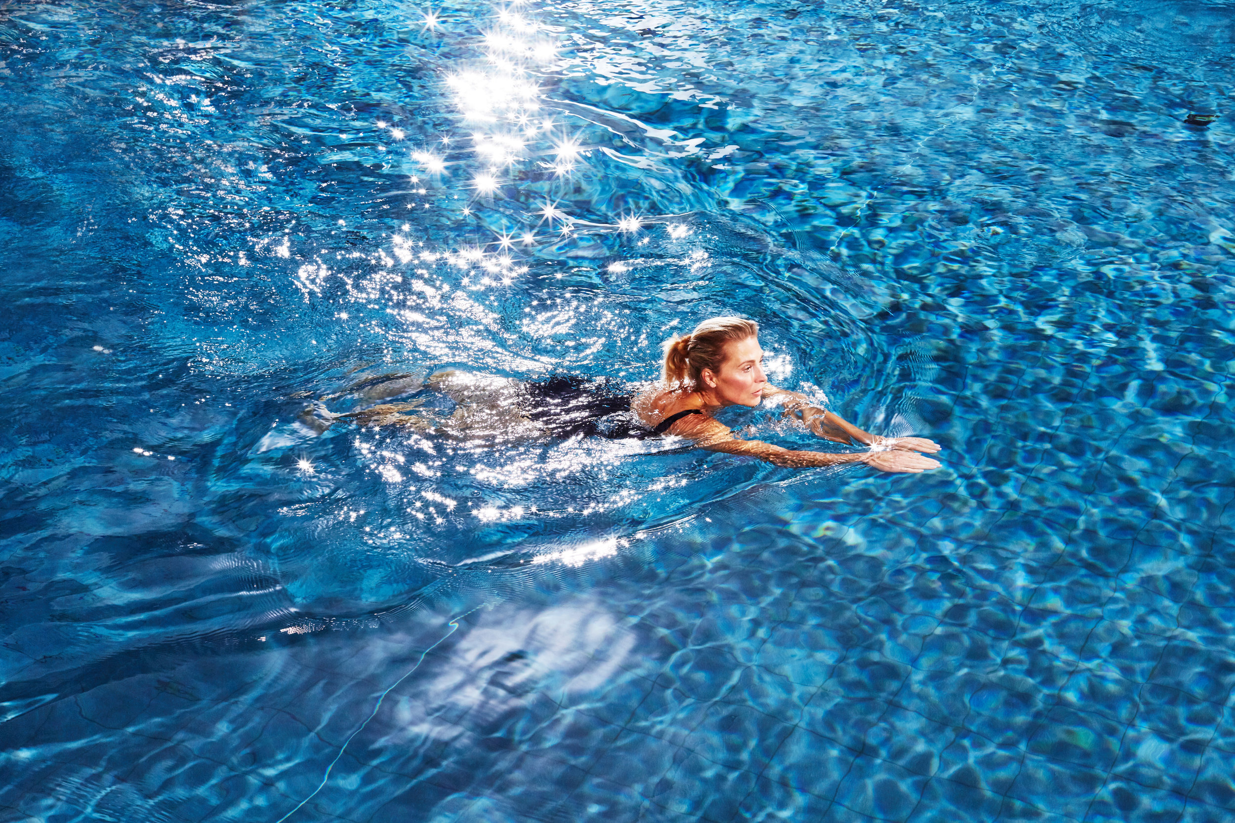 Sports & Fitness Wellbeing Photographer Aspria Swimming