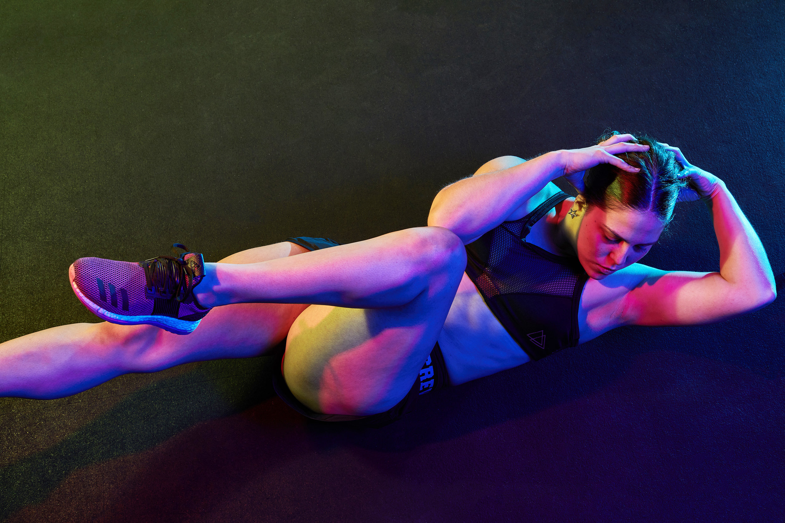 Sports & Fitness Creative Colour Work Out Sit Ups Abbs