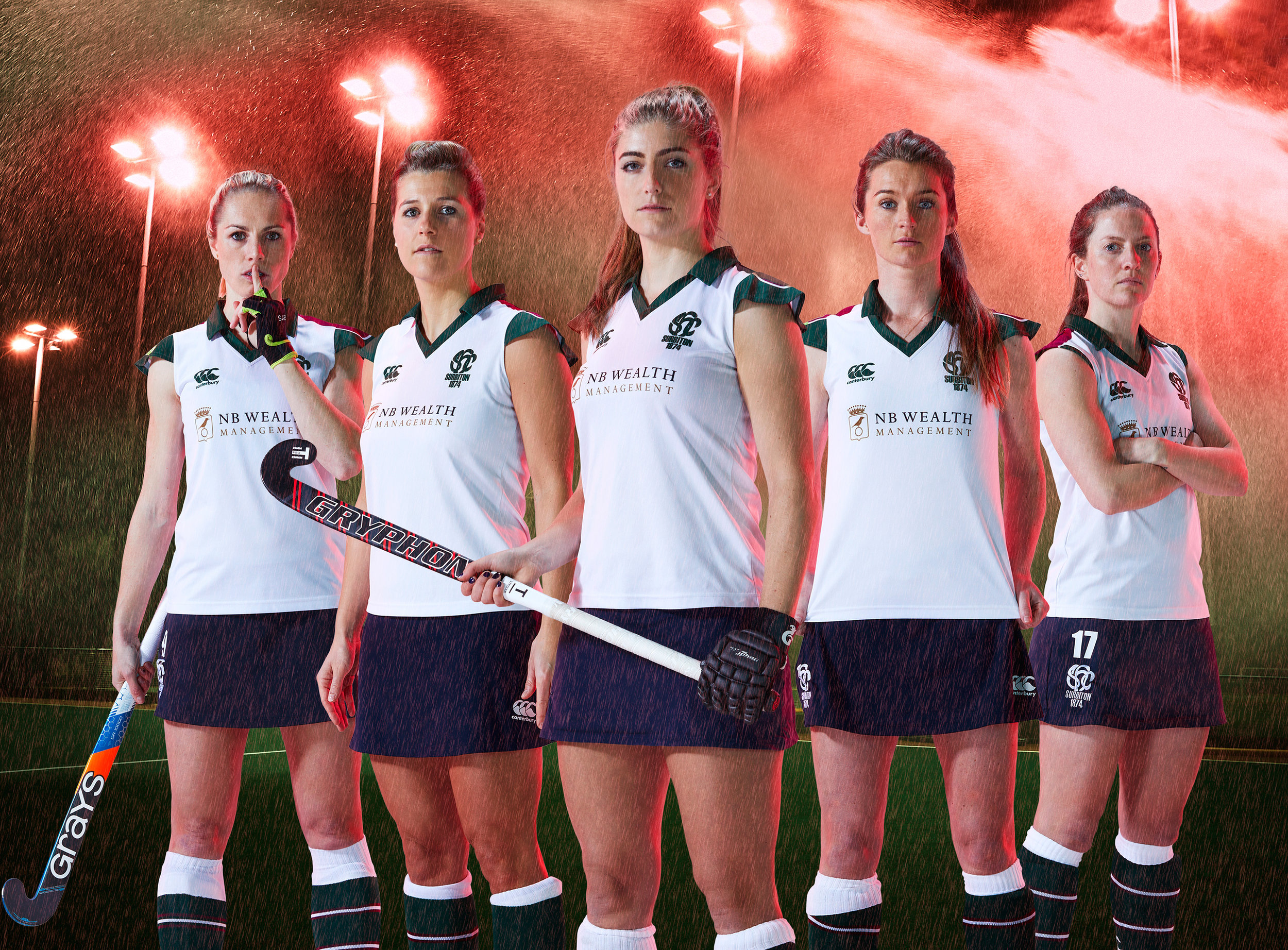Sports & Fitness Portraits of Surbiton Hockey Club Women's