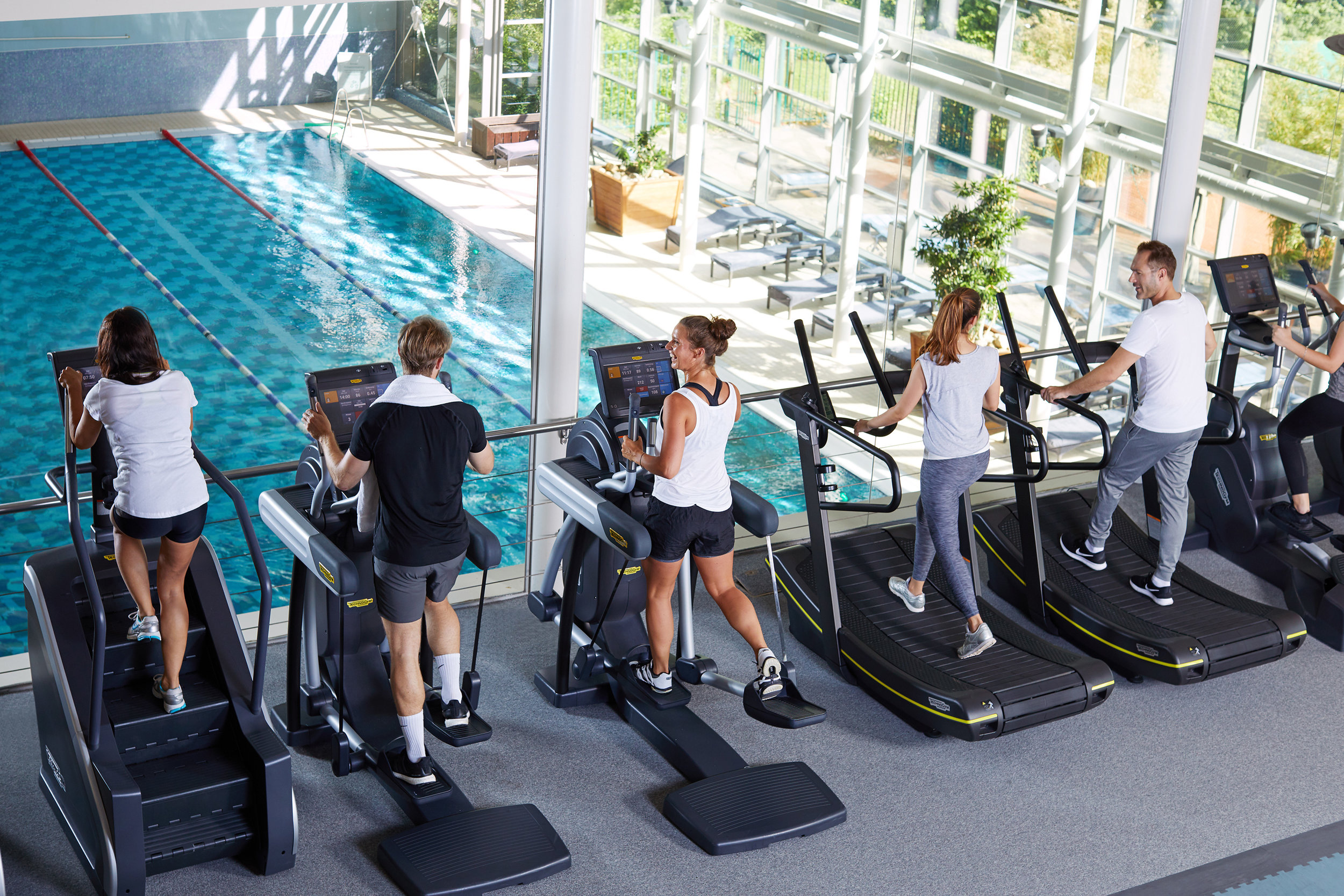 Sports & Fitness Wellbeing Commercial Photographer Aspria Group Cardio Class