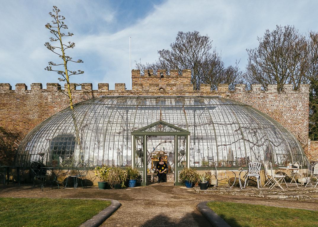 Grade ll listed Italianate Glasshouse and tea room