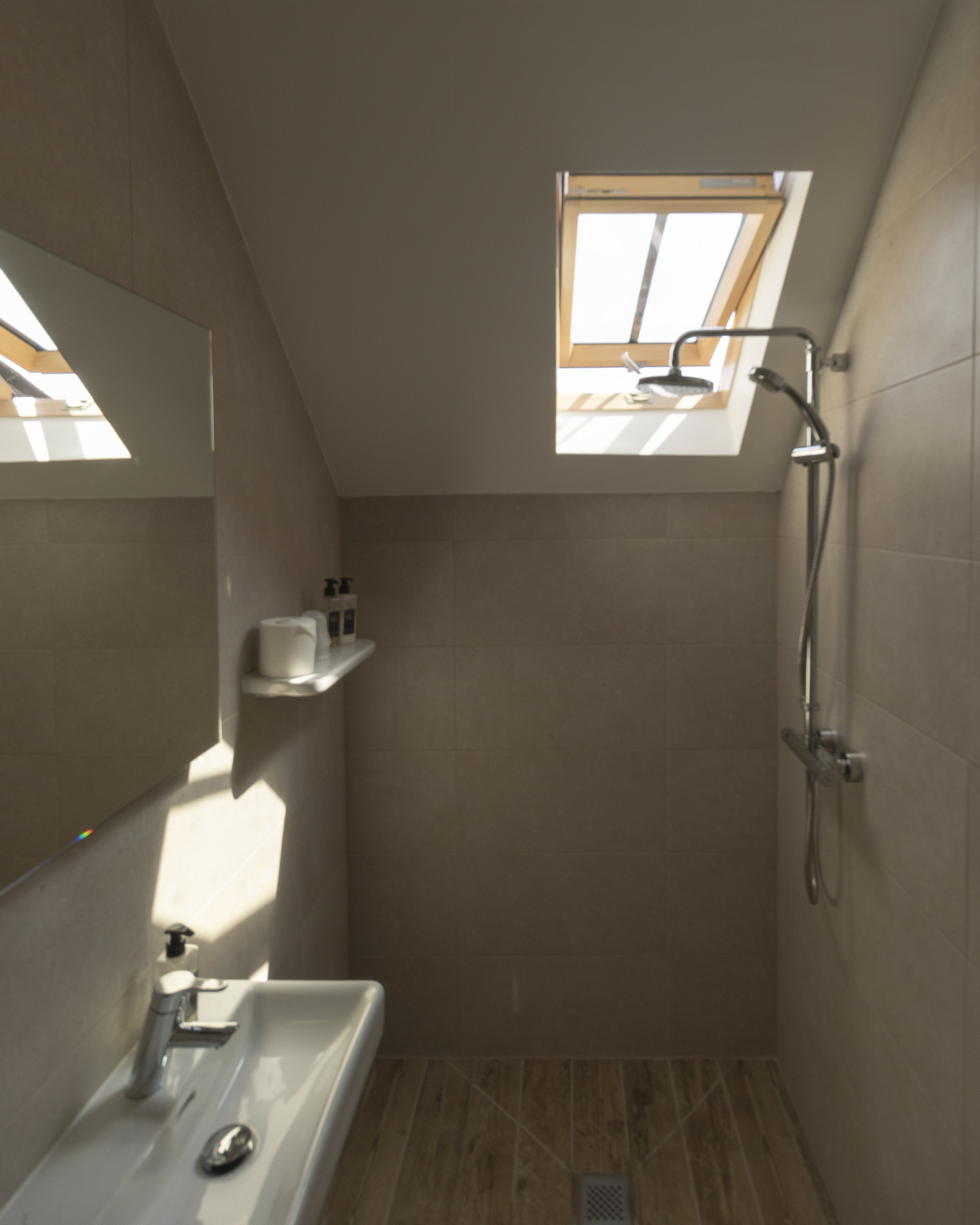 Beautifully finished wet room